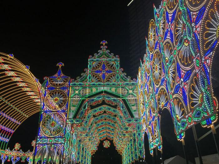 神戸ルミナリエのデートコース例