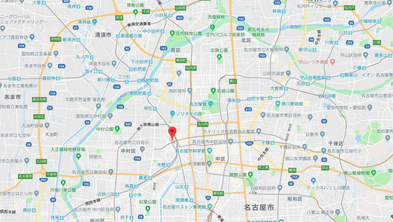 名古屋地下迷宮マップ