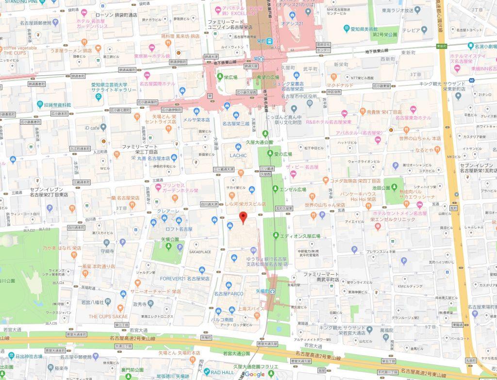 ートアクアリウム展周辺地図