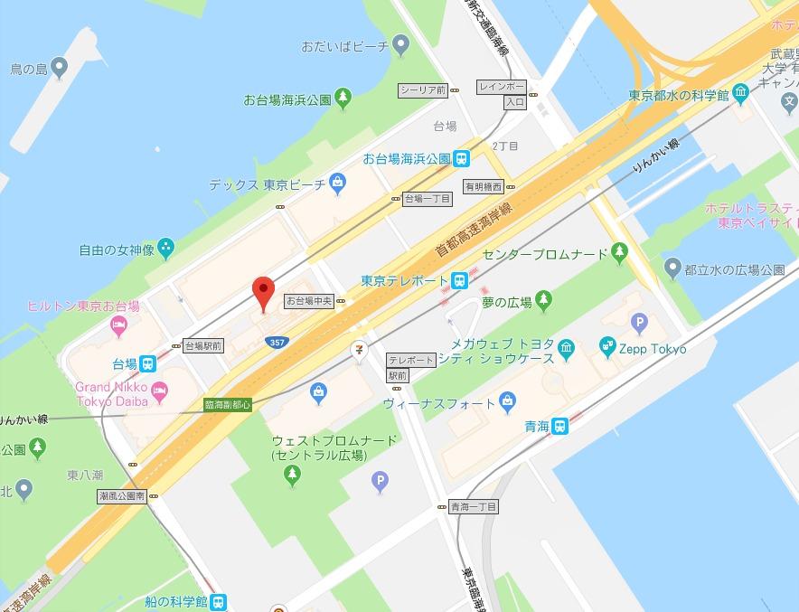 ワンガン夏祭り周辺地図